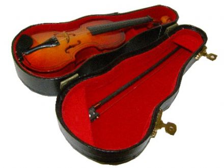 Musical Miniature Violin 16092